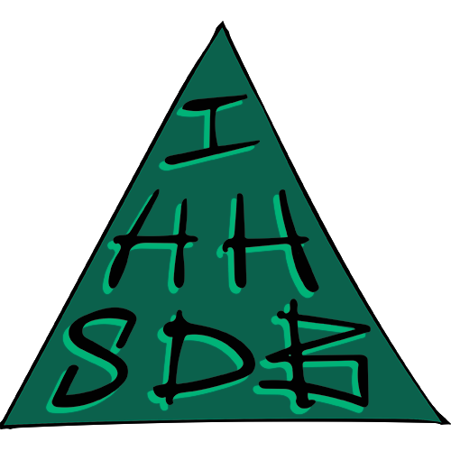 IHHSDB logo in green