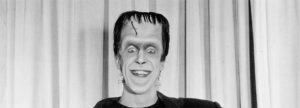 Fred Gwynne as Herman Munster in 1964